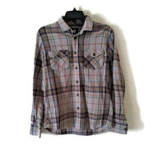 Element Small Flannel Shirt 100% Cotton